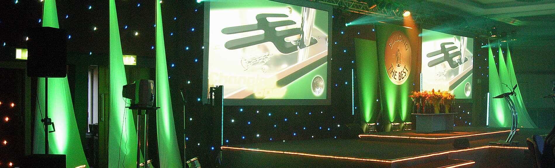 Award Presentation at a Conference