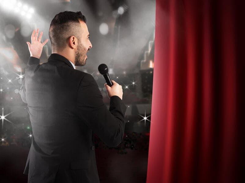 Choosing guest host or speaker for event